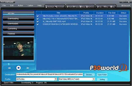 دانلود 4Videosoft FLV Downloader 4.0.20   نرم افزار دانلود فایل های FLV