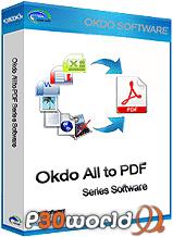 دانلود Okdo All to Pdf Converter Professional v4.5   نرم افزار تبدیل فرمت فایل های مختلف به پی دی اف