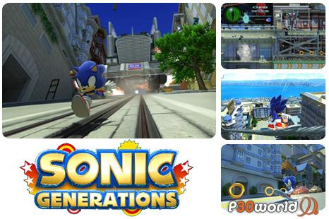 دانلود بازی Sonic Generations   بازی سونیک