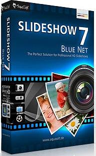 دانلود AquaSoft SlideShow 7 Blue Net 7.7.11.35343 - نرم افزار ساخت اسلایدشو