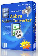 دانلود Zebra Media Total Video Converter 1.6 - نرم افزار تبدیل فرمت فایل های ویدئویی