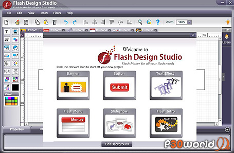 WebSmartz Flash Design Studio