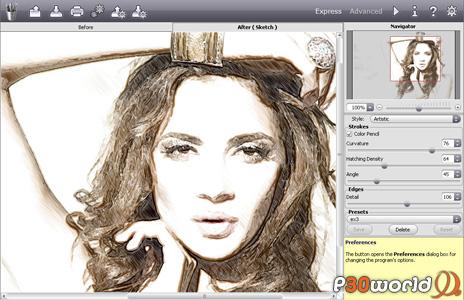 نرم افزار تبدیل عکس به نقاشی