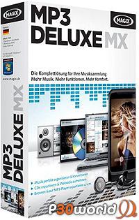 دانلود MAGIX MP3 Deluxe MX 18.01.112 - نرم افزار مدیریت فایل های صوتی