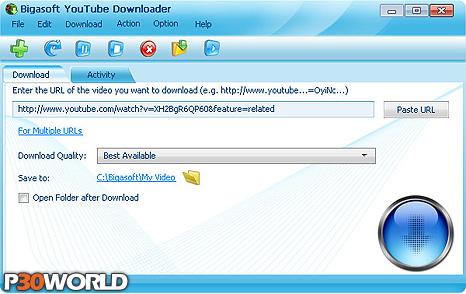 Bigasoft YouTube Downloader