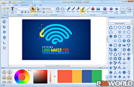 دانلود Sothink Logo Maker Professional 4.0 Build 4186 - نرم افزار ...Sothink Logo Maker Professional