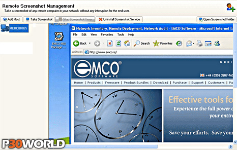 EMCO Remote Screenshot