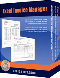 Download Excel Invoice Manager