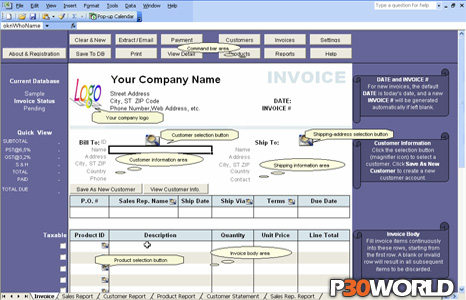 Excel Invoice Manager