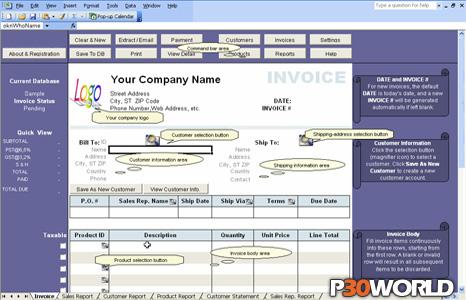 دانلود Excel Invoice Manager – نرم افزار صدور صورت حساب و فاکتور الکترونیکی توسط اکسل