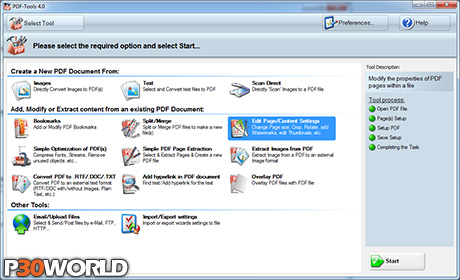 Tracker Software PDF Tools