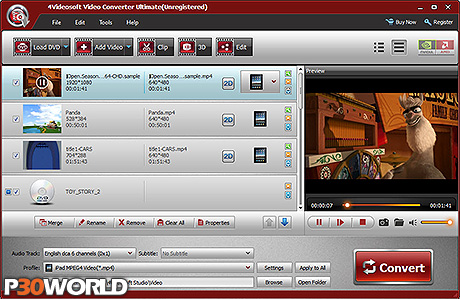 4Videosoft Video Converter Ultimate