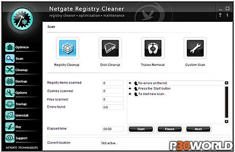 دانلود NETGATE Registry Cleaner v4.0.605 – نرم افزار پاکسازی و یکپارچه سازی رجیستری