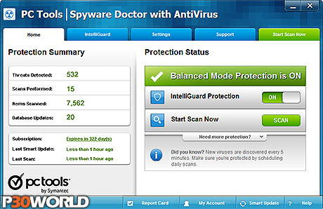 PC Tools Spyware Doctor with AntiVirus