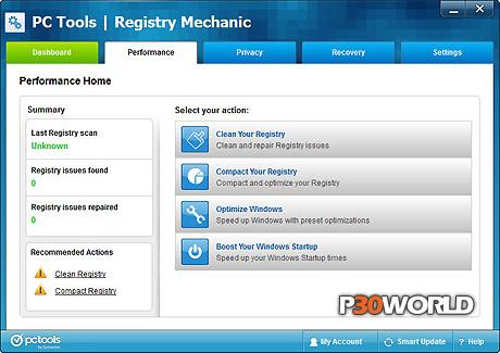 دانلود PC Tools Registry Mechanic v11.1.0.188 –  قدرتمند ترین نرم افزار بهینه سازی رجیستری