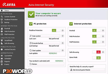 Avira Internet Security 2013 v13.0.0.1334