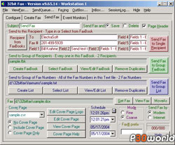 Electrasoft 32bit Fax v09.05.24 یک دستگاه فکس مجازی