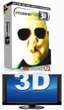 MakeMe3d v1.0.10.922 نرم افزار تبدیل فیلم های دوبعدی به سه بعدی !
