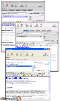Maxprog MaxBulk Mailer Pro v6.8 ابزاری برای ارسال نامه های گروهی