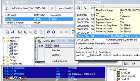 Heaventools PE Explorer v1.99 ابزاری قدرتمند برای resource نمودن فایل های اجرایی