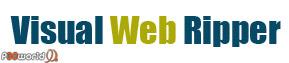 ذخیره کامل صفحات وبسایت بر روی هارد توسط Visual Web Ripper v2.17.7