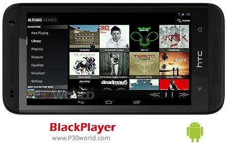 دانلود BlackPlayer EX 20.21- نرم افزار پخش کننده موزیک اندروید