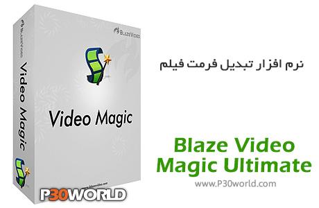 نرم افزار تبدیل فرمت فیلم Blaze-Video-Magic-Ultimate