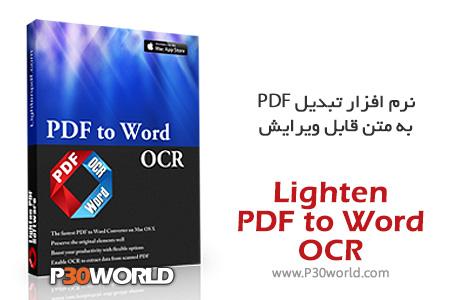 Lighten-PDF-to-Word-OCR