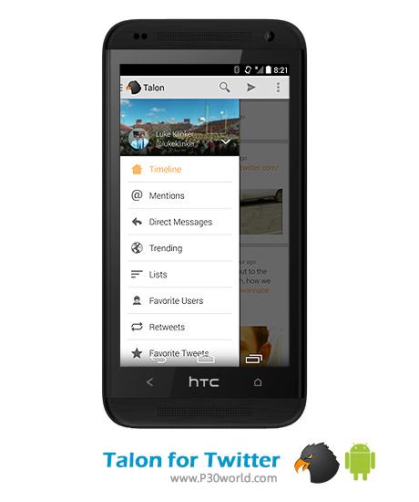 اپلیکیشن توییتر اندروید Talon-for-Twitter