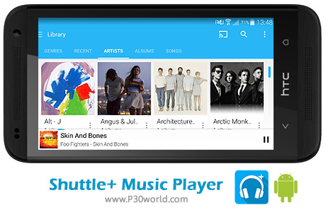 Shuttle-Music-Player