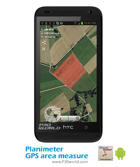Planimeter-GPS-area-measure