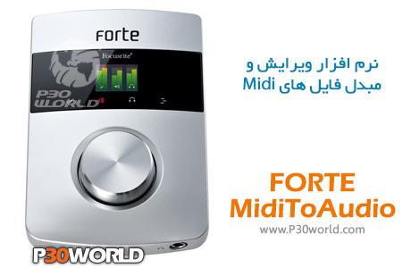 FORTE-MidiToAudio