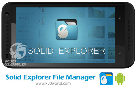 دانلود Solid Explorer File Manager FULL 2.2.8.build.200117 + Plugins نرم افزار مدیریت فایل اندروید