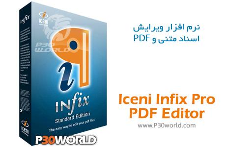 دانلود Iceni InfixPro PDF Editor 7.0.4 – نرم افزار ویرایش اسناد متنی و PDF