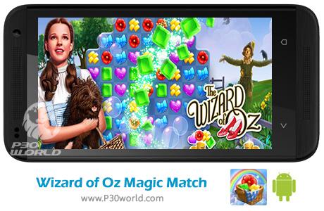دانلود Wizard of Oz Magic Match v1.0.3074 – بازی سحر و جادو برای اندروید
