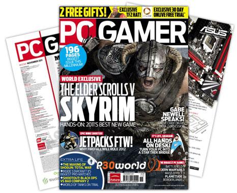 دانلود PC Gamer UK November 2011 – ماهنامه پی سی گیمر ماه نوامبر 2011