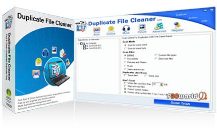 حذف فایل های تکراری و بی استفاده توسط نرم افزار Duplicate File Cleaner v2.6.2.199