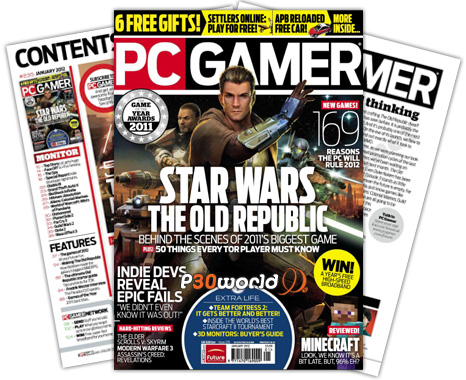 ماهنامه PC Gamer UK – January 2012