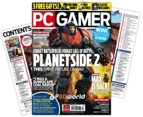 دانلود PC Gamer UK December 2011 – ماهنامه پی سی گیمر ماه دسامبر 2011