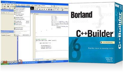 دانلود Borland C++ Builder 6 Enterprise Edition 2011  نسخه جدید نرم افزار برنامه نویسی برلند سی پلاس پلاس