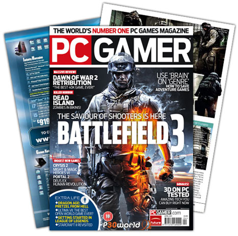 ماهنامه  PC Gamer April 2011