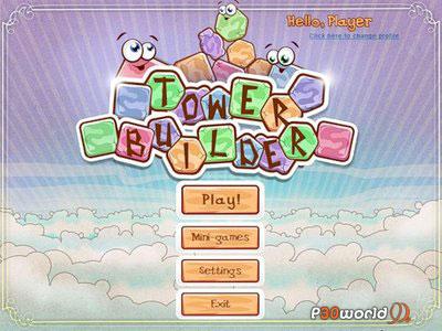 بازی جذاب Tower Builder