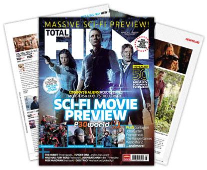 دانلود ماهنامه دنیای سینما Total Film August 2011