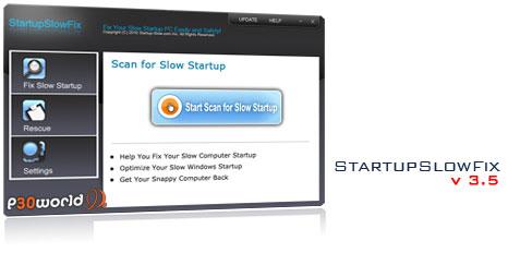 دانلود StartupSlowFix v3.5 – نرم افزار افزایش سرعت Startup ویندوز