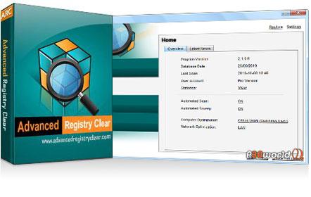 دانلود Advanced Registry Clear v2.1.8.8 – نرم افزار بهینه سازی و رفع مشکلات رجیستری
