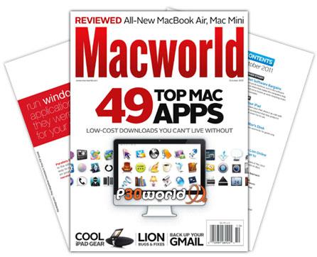 ماهنامه مک ورلد ماه اکتبر 2011 – Macworld UK October 2011