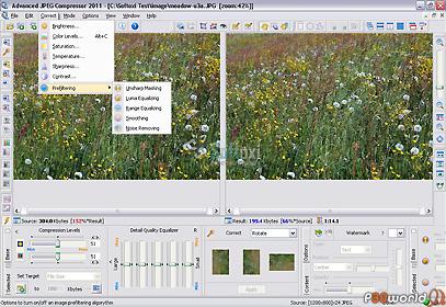 دانلود Advanced JPEG Compressor 2012.9.3.100 – نرم افزار فشرده سازی عکس ها و تصاویر JPEG