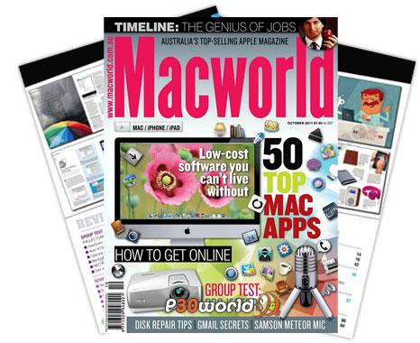 ماهنامه مک ورلد ماه اکتبر 2011 – Macworld AU October 2011