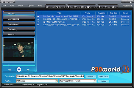 دانلود 4Videosoft FLV Downloader 4.0.20 – نرم افزار دانلود فایل های FLV