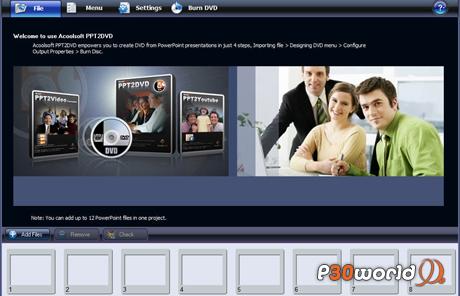 دانلود Acoolsoft PPT to DVD Pro 3.2.7.3 – نرم افزار تبدیل فایل های پاورپوینت به فیلم دی وی دی